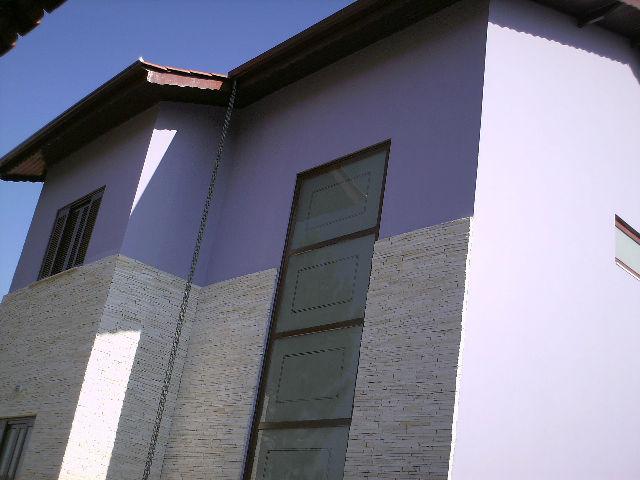 parede lascas
