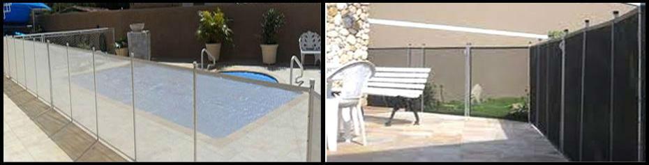 Cerca de proteçao para área de piscinas