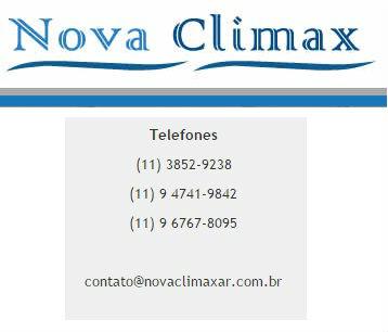 Manutenção Ar Condicionado Splits Multimarcas NovaClimax