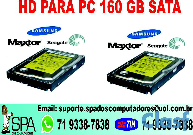 HD DE 160 GB SATA