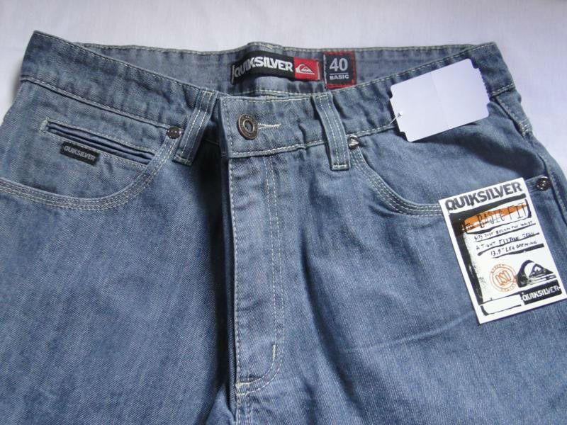Calças+Jeans+Quiksilver+Atacado+Pointshop+Cinza