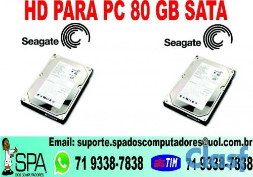 HD DE 80 GB SATA