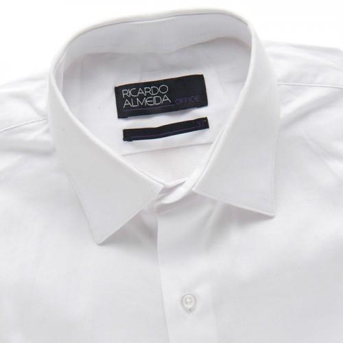 camisa-social-ricardo-almeida-atacado-varejo-10-peças-lisa-algodão-branca - Cópia