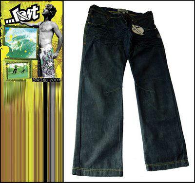 Calças+Jeans+Lost+Atacado+Pointshop+Cinza
