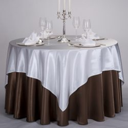 120-Coffee-Color-Satin-Pintuck-Banquet-or