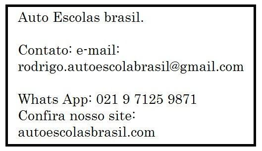 auto escolas brasil
