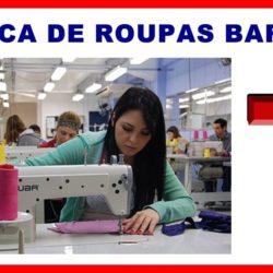 fabrica de roupa