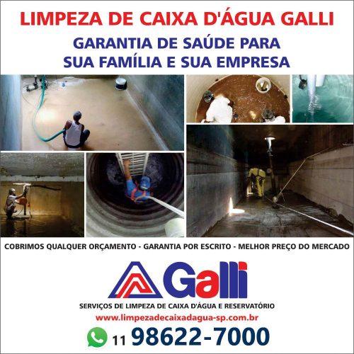 LIMPEZA GALLI