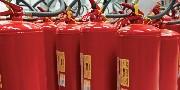 extintores pintados