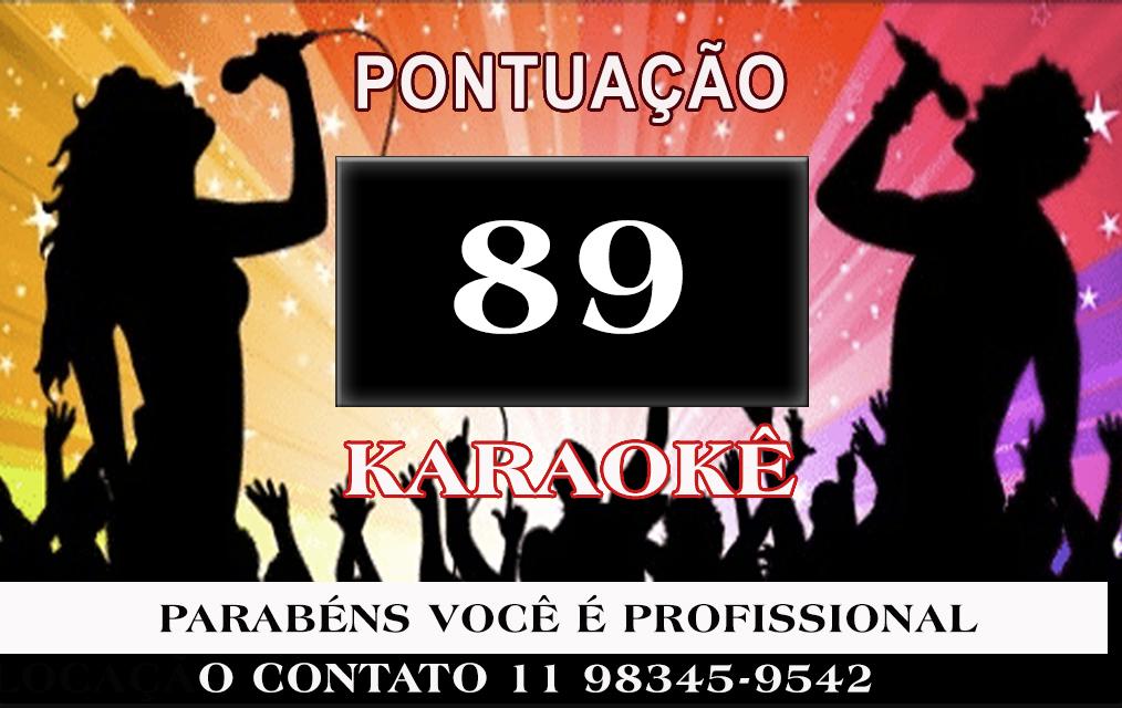 Karaoke VIDEOKE PROFICIONAL de pontuação