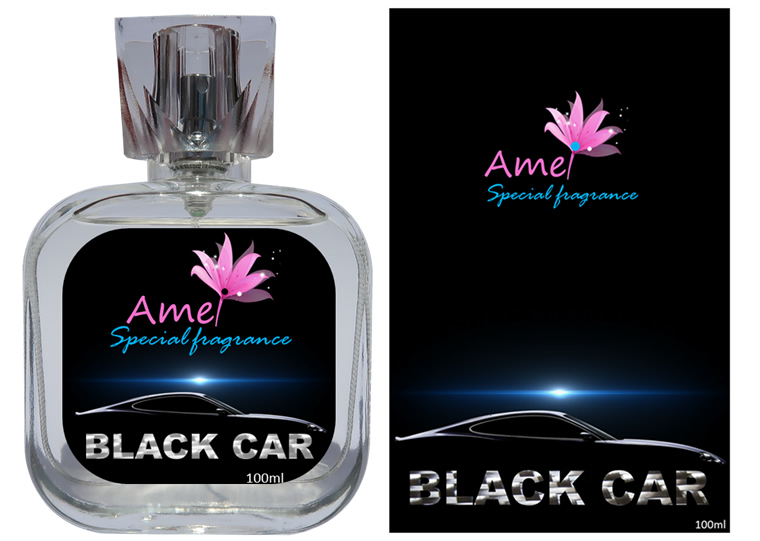 Perfume Black Car 100ml, inspirado no perfume Ferrari Black