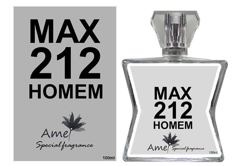 Perfume 212 MAX 100ml, inspirado no perfume 212 Men
