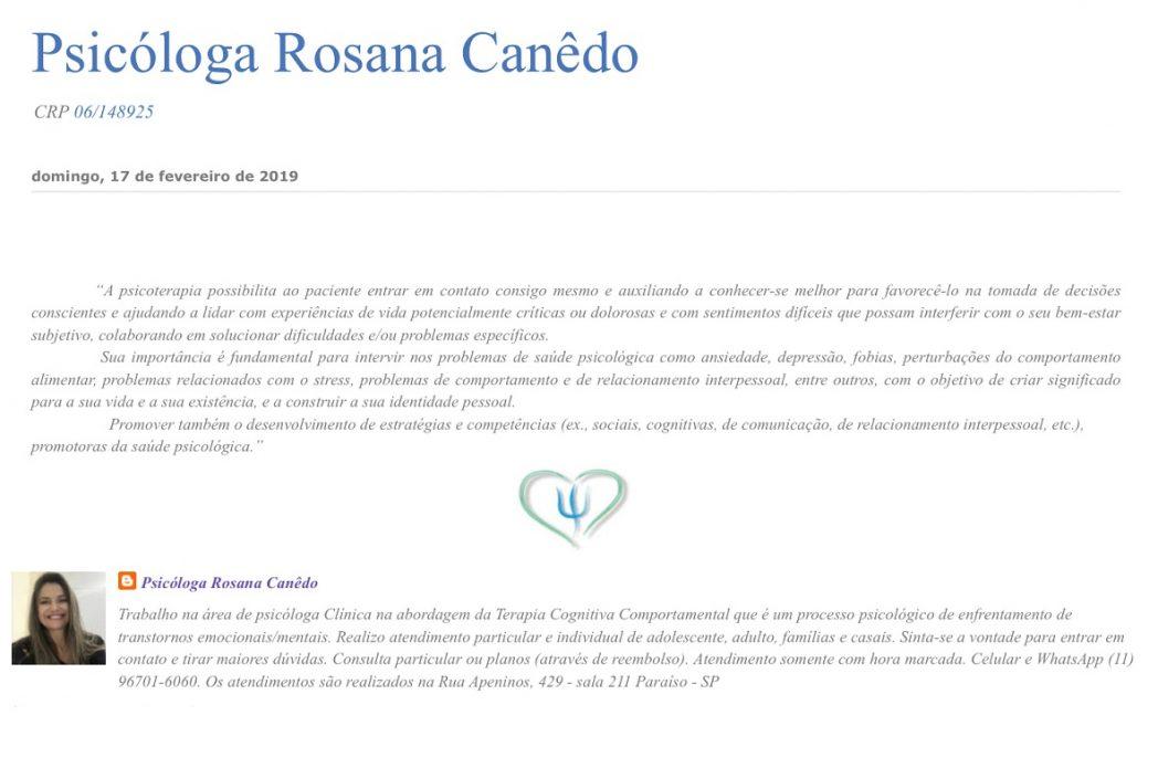 PSICOLOGIA CARTÃO