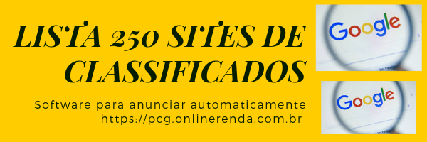 Lista 250 sites de classificados baixe gratis online anunciar