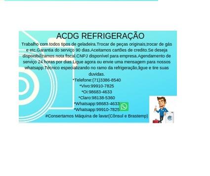 ACDG REFRIGERAÇÃO