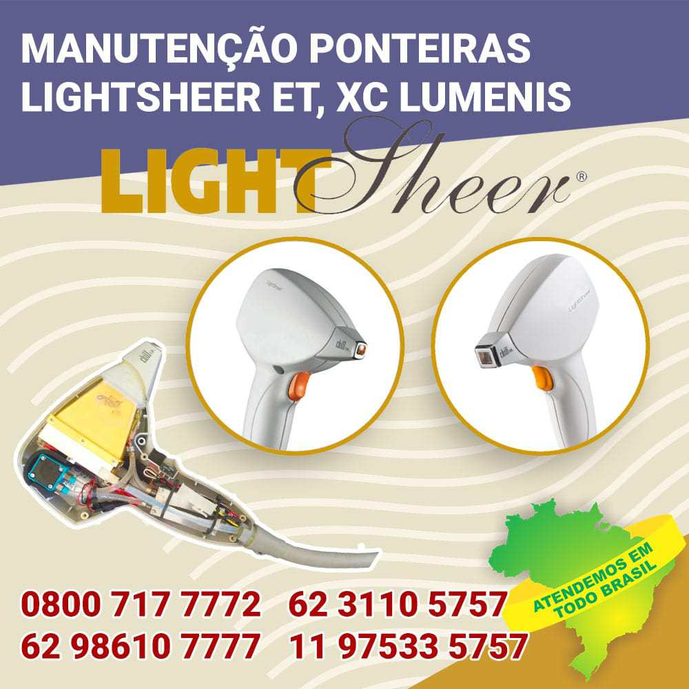 MANUTENCAO-PONTEIRAS-LIGHTSHEER-ET-XC-LUMENIS-TODO-O-BRASIL