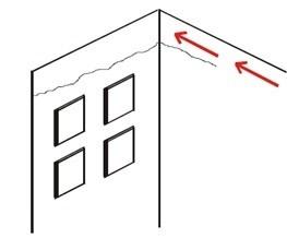 Infiltração externa em BH - Infiltração na cerâmica BH - Infiltração na fachada BH - Infiltração na Fachada do Prédio em BH - Infiltração na Fachada em BH - Infiltração na Parede externa BH