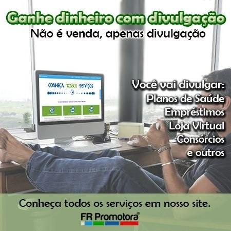 GANHE DINHEIRO COM DIVULGAÇÃO