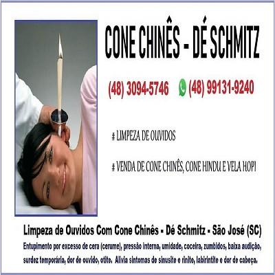 Cone Chinês - Fabricação e Venda de Cone Chinês -  Dé Schmitz - Terapeuta - 400x400