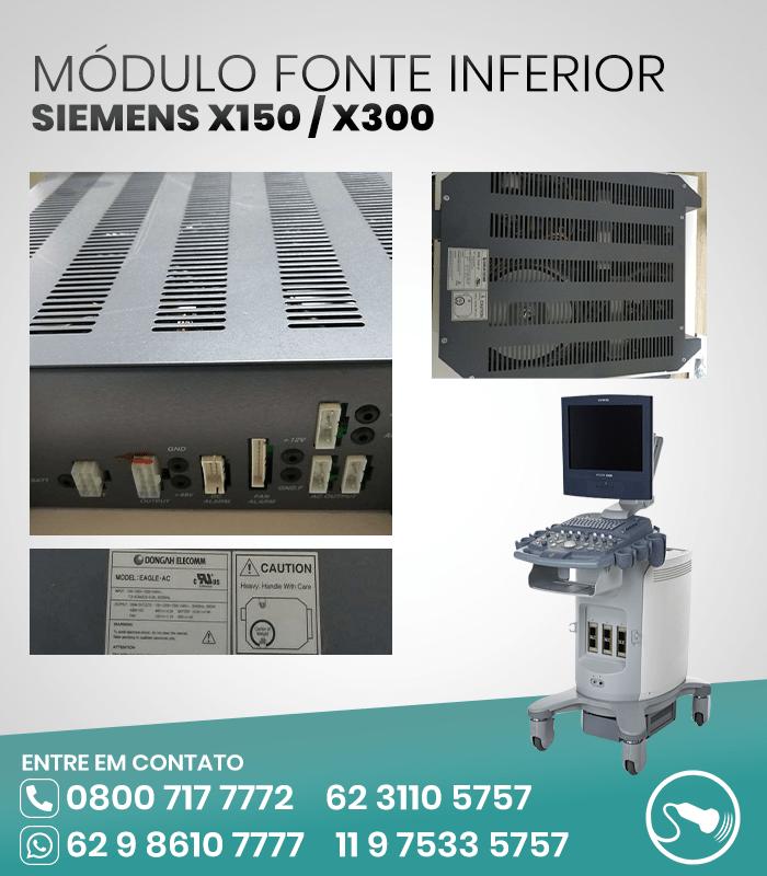 MODULO-FONTE-INFERIOR-ULTRASSOM-SIEMENS-X300-X150