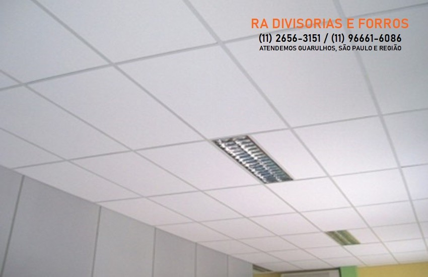 Forro de Isopor em Guarulhos (11) 2656-3151 - (11) 96661-6086