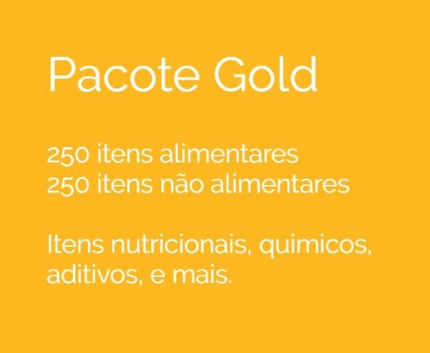 Pacote GOLD imagen recorte