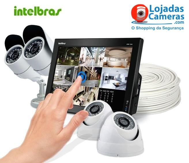 kit-cftv-intelbras-instalação-4-cameras-LDC