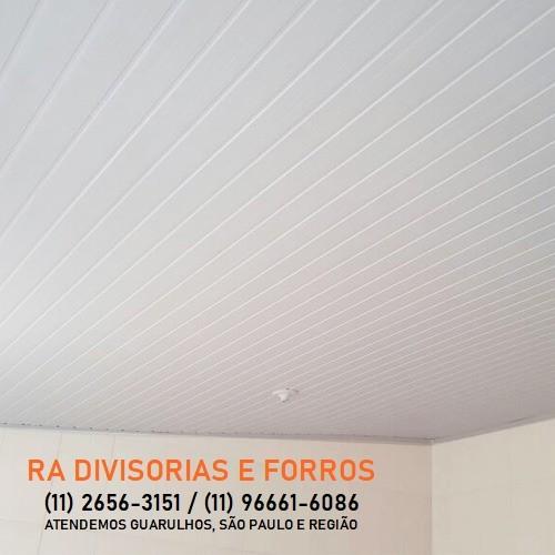 Forro de PVC em Guarulhos (11) 2656-3151 - (11) 96661-6086