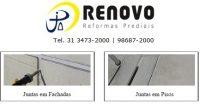 Renovo Reformas 31 3473-2000 | 3357-1961 | www.renovoreformas.com.br | Tratamento de pintura fachada BH | Empresa de limpeza e manutenção predial BH | Limpeza e Manutenção Predial BH | A capacitação de mão-de-obra para a impermeabilização BH | Impermeabilização em fachadas BH | Impermeabilização de marquises BH | Impermeabilização rígida BH | Impermeabilização de telhados BH | Projeto de Impermeabilização BH | Patologias decorrentes da falta de impermeabilização BH | Patologias decorrentes da falta de impermeabilização na fachada BH | Porque impermeabilizar BH | Recomendações em relação aos sistemas de impermeabilização BH | Tratamento de paredes com umidade na fachada BH | Tratamento de paredes com umidade BH | Vida longa à impermeabilização BH | Vazamento de lajes BH | Como utilizar selantes em fachadas BH | Como impermeabilizar lajes sem trânsito BH | Como impermeabilizar com argamassa polimérica BH | Impermeabilização de fundação BH | Projetos de impermeabilização BH | Instituto Brasileiro de Impermeabilização BH | Instituto Brasileiro de Impermeabilização Brasil | Instituto de Impermeabilização BH | Revista Construção Mercado Ed. PINI BH | Revista Equipe Mão de Obra Ed. PINI BH | Revista Equipe Mão de Obra BH | Tipos de Tintas BH | Tinta para Reforma Predial BH | Tinta Fachadas Externas de Prédios BH | Tinta Pintura Interna BH | Saiba quais são as tintas ideais para pintar a parede BH |  Tinta Emborrachada BH | Tipo de Textura BH | Tintas e suas aplicações BH | Revista Construção Mercado BH | Feiras industriais BH | Construção Mercado PINI BH | Material de pintura de parede BH | Materiais de pintura de paredes BH | Materiais de pintura na construção civil BH | Material para pintar parede externa BH | Ferramentas para pintura de parede BH | Equipamentos para pintura de parede BH |10 melhores especialistas em telhados para Belo Horizonte | 10 Melhores Pedreiros em Belo Horizonte GetNinjas | 10 melhores pedreiros para Belo Horizonte StarOfService | 10 Melhores Pin