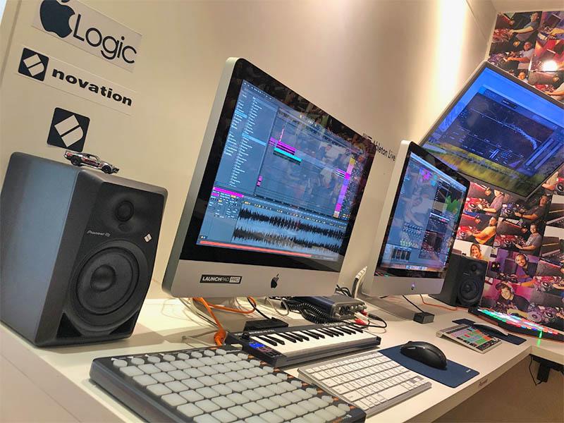 03 BeatMaker Curso de DJ e Producão Musical RJ Rio de Janeiro Leblon Ipanema Barra da Tijuca Recreio Urca Botafogo Ableton Logic Pro  FL studio