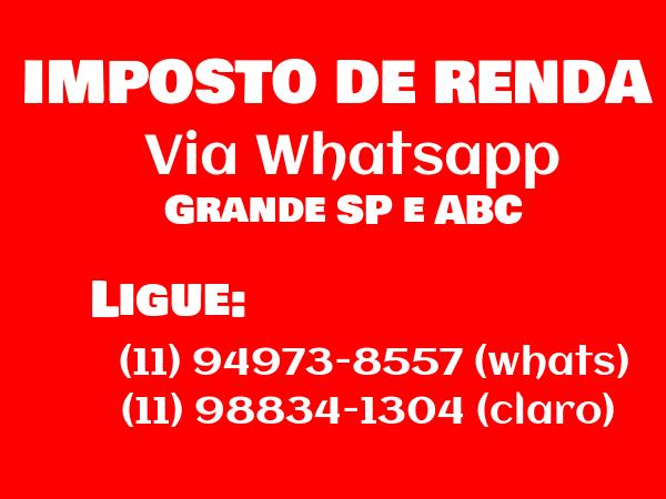 Imposto de Renda Whatsapp