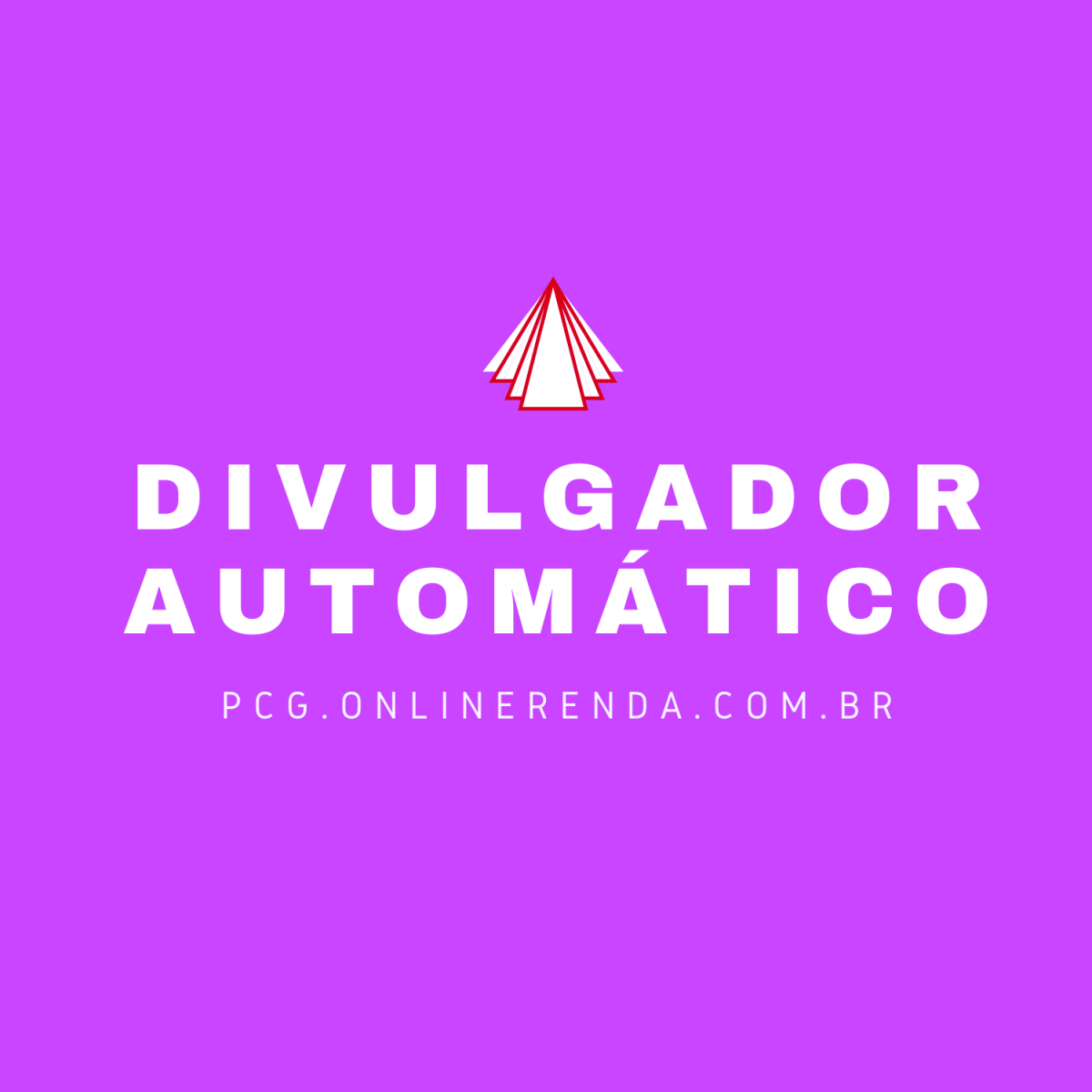 Vermelho Ícone Simples Internet Logotipo