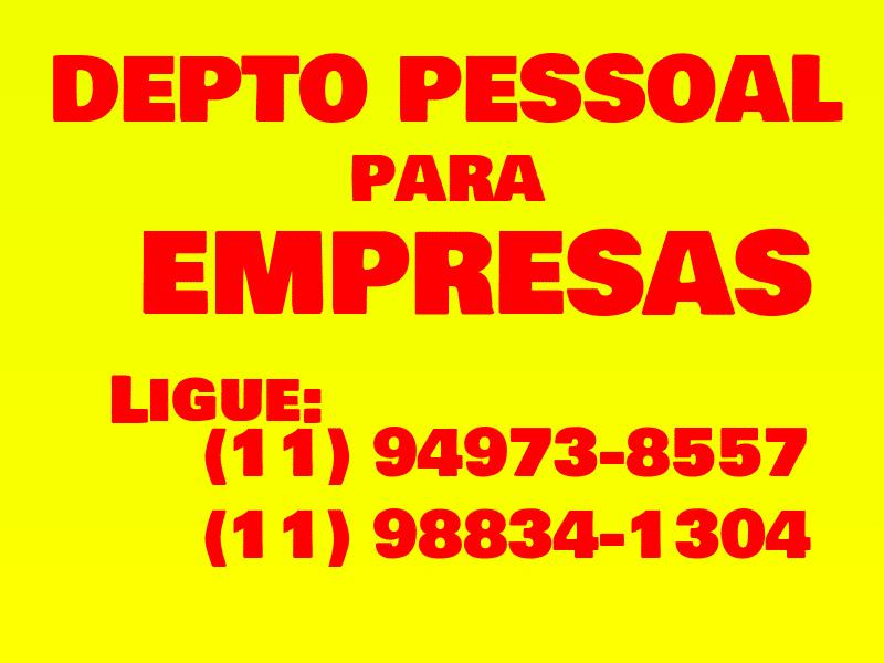 DEPTO PESSOAL AMARELO