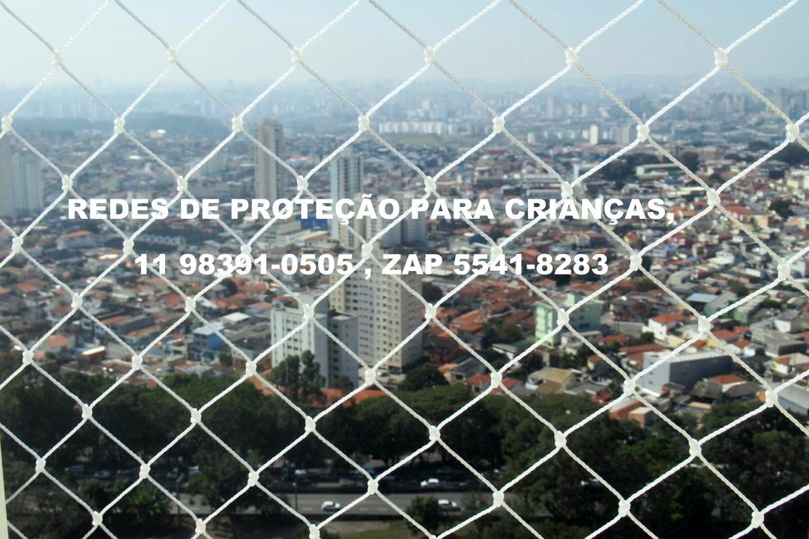 A redes de proteção .