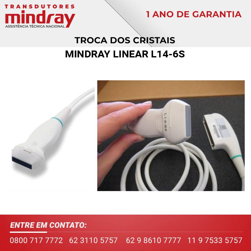 (4)-CRISTAL-TRANSDUTOR-MINDRAY-LINEAR-L14-6S